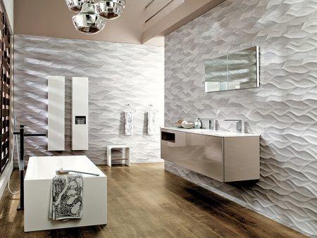 Современная плитка для отделки ванной комнаты