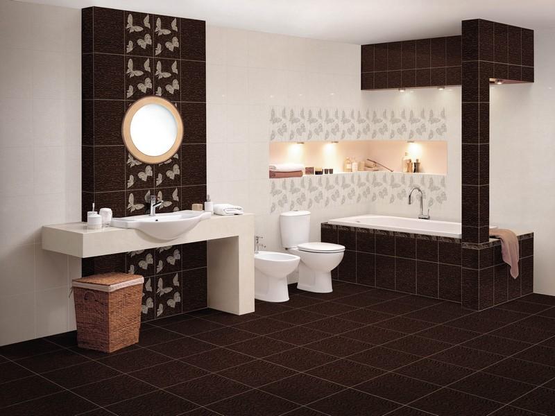 Красивая плитка для отделки ванной комнаты