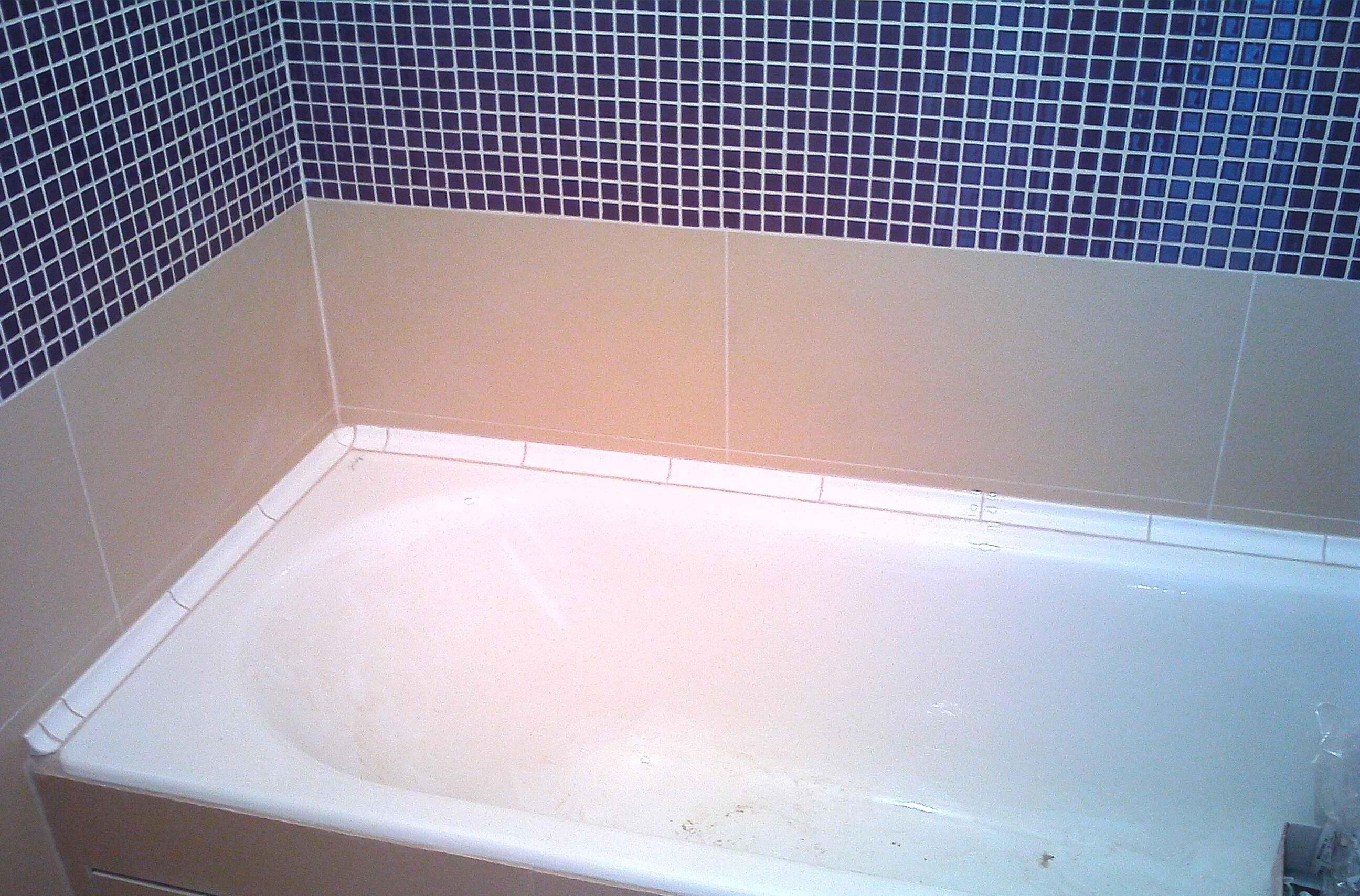 Красивое оформление уголков в ванной