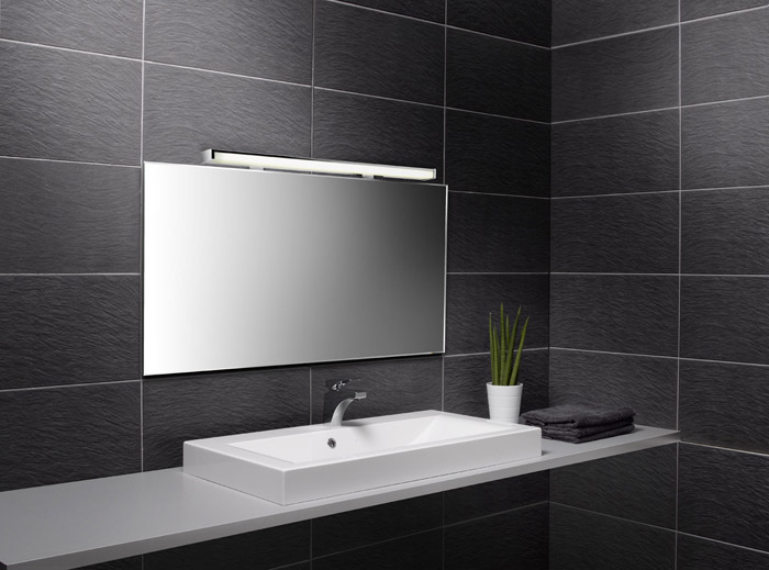 Пример зеркала в ванной комнате